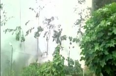 Breakage of water pipeline of Nippon Hydel plant in Darjeeling due to a blast   Breakage of water pipeline of Nippon Hydel plant in Darjeeling due to a blast (ANI)  Darjeeling