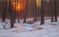 Warm Snow looks better! : Cool Painting Tips | Studio Six Framing ...