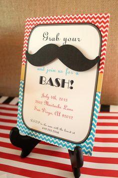 Little Man Mustache Bash of July Party Ideas Little Man Party, Little Man Birthday, Sons Birthday, Birthday Fun, First Birthday Parties, First Birthdays, Birthday Ideas, Birthday Stuff, 15th Birthday