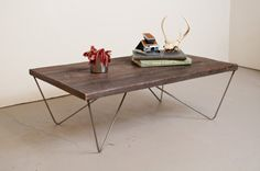 Coffee Table Reclaimed Wood Salvaged from the von dylangrey auf Etsy