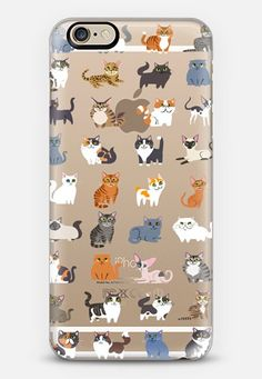 All Cats (clear) by Lili Chin | @casetify