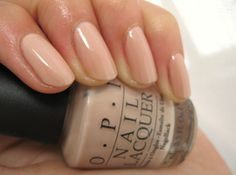 OPI Samoan Sand ~ beautiful nude color works great on virtually any skin tone.