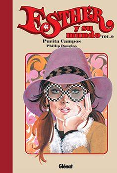 """""""Esther y su mundo"""", volumen 1, de Purita Campos y Phillip Douglas. Editado por Glénat."""