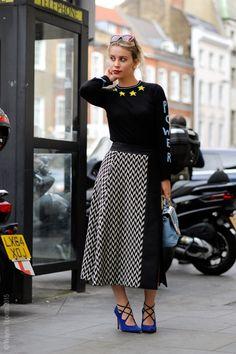 zig zag. #BillieJDPorter in London.