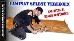 Laminat selbst verlegen - Anleitung & Basics ausfürlich von M1Molter