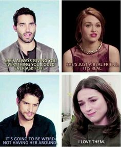 Tyler Hoehlin/Holland Roden/Tyler Posey/Crystal Reed