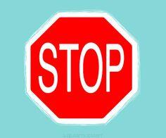 Modern Stop Sign