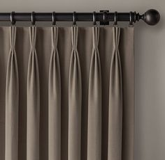 creased linen curtains - Google Search