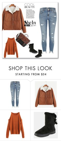 """""""SheIn 10/III"""" by hedija-okanovic ❤ liked on Polyvore featuring River Island and shein"""