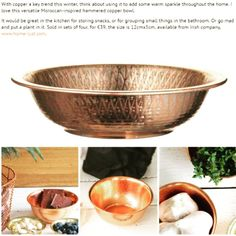 An amazing press coverage weekend for our little webstore, starting with this set of pretty copper bowls making the @irish_examiner #interiorswishlist on Sat. Thanks ever so much, Esther! We keep pistachios and garlic in them and they are usually to be found on our black kitchen island - the contrast is fantastic.  #Homelust #irishshop  #irishstore  #shopirish  #buyirish #shopindependent  #dublin  #ireland  #dublinshop  #dublinstore #homedecor #interiorsinspiration #irishinteriors #irishblog…
