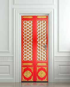 Door sticker old baroque house enter doors mural decole by wallnit wall door sticker asian door ornamental pattern decole poster 30x7977x200cm planetlyrics Image collections