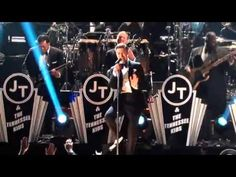 Justin Timberlake's Suit & Tie at the Grammys 2013