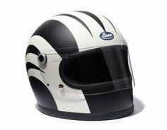 NEIGHBORHOOD Buco Custom Racer Helmet Motorcycle Posters, Motorcycle Gear, Cafe Racers, Vintage Motorcycles, Cars And Motorcycles, Vintage Helmet, Helmet Paint, Helmet Design, Riding Gear