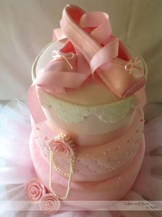 Ballerina Cake. Pink Cake.   Cakes and More by Nora