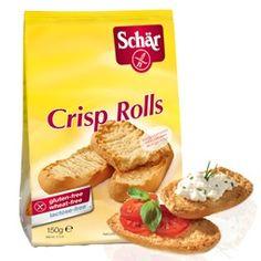 Crisp Rolls 3.59€       Charakteristika:  Bezlepkové a bezlaktózové sucháre švédskeho typu.