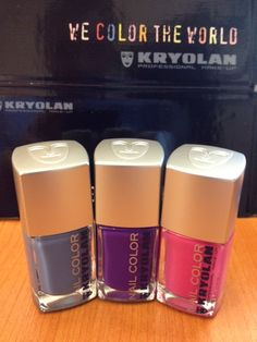 Kryolan will launch 22 colors and a basecoat in October
