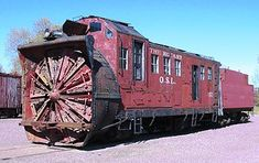 A rotary snowplow from the Oregon Short Line (a predecessor of the Union Pacific Railroad) on display at the Mid Continent Railway Museum in North Freedom, Wisconsin. Mid Continent, Long Island Railroad, Canadian Things, Visit Canada, Canada Eh, Railroad History, Union Pacific Railroad, Choo Choo Train, Railway Museum