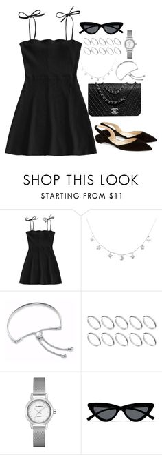 """""""Untitled #5163"""" by theeuropeancloset ❤ liked on Polyvore featuring Paul Andrew, Monica Vinader, ASOS and Le Specs"""