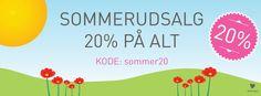 Sommerudsalg i butikken - By Pepe - en grafisk legeplads - www.bypepe.dk