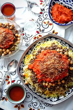 I remember when I first had this as take out with my friend. ❤️ Carb on Carb Love: Koshari Recipe | Tea For Tammi