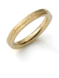 Jeanine Payer Arielle 18K Ring: $1,345; jeaninepayer.com #weddingring #nontraditionalbride #engagementring