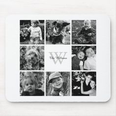 Shop Family Photo Collage Trinket Trays created by heartlocked. Family Photo Collages, Family Collage, Family Photos, Photo Frame Design, Custom Mouse Pads, Personalized Stationery, Photo Gifts, Photo Wall, Monogram