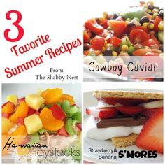 3 Favorite Summer Recipes