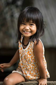 Smiling little Girl, Vietnam.