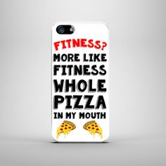 Fitness Pizza iPhone Case For  iPhone 6 Plus Case  by Memeskins
