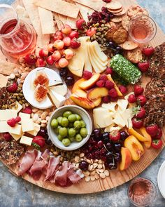 Summer Cheese Board - What's Gaby Cooking - Imogen Linge Charcuterie Recipes, Charcuterie Platter, Charcuterie And Cheese Board, Meat Appetizers, Appetizer Recipes, Antipasto, Cheese Platter Board, Cheese Boards, Cheese Plates