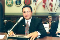 Richard Hollis attends congressional hearings in Washington D.C. to testify for medical countermeasures against nuclear attacks for Project BioShield.