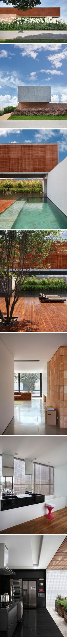BT House by Guilherme Torres architecture studio in South Brasil.