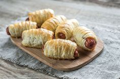 ◕ [Get Free]◁ Bowl With Sausage Rolls Appetizer Baked Bakery Board British Cooked Easy Cake Recipes, Lunch Recipes, Breakfast Recipes, Baked Bakery, Puff Pastry Recipes, Sausage Rolls, Breakfast Items, Savory Snacks, Dinner Dishes