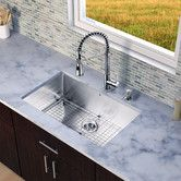Found it at Wayfair - Brant Single Handle Pull-Down Spray Kitchen Faucet
