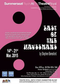Last of the Haussmans 14th - 21st March 2015