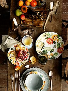 The colorful table. David Meredith -