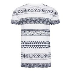 Primark - What's New Primark, Whats New, T Shirts, Aztec, Holiday, Prints, Mens Tops, Fashion, Tee Shirts