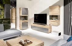Design luxueux et qualité haut de gamme, ce meuble TV est réalisé par un fabricant de mobilier de renommée internationale qu'est Voglauer.