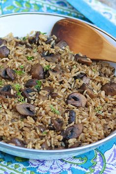 Oven Baked Brown Rice -- hearty, healthy, and perfectly cooked every time
