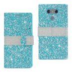 LG G6 Rhinestone Case in Blue