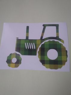 Tractor Decal, Pattern Tractor Decal, Plaid Decal Pattern plaid Yeti Cup Decals, Plaid Pattern decals by Adsforyou on Etsy Horse Trailers, Camper Trailers, Custom Window Decals, Auto Business, Decals For Yeti Cups, Guns And Roses, Plaid Pattern, Tractors, Cricut