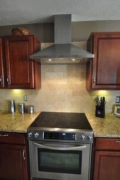Kitchen Backsplash Ideas With Cherry Cabinets backsplash ideas for cherry cabinets | home | pinterest | cherry