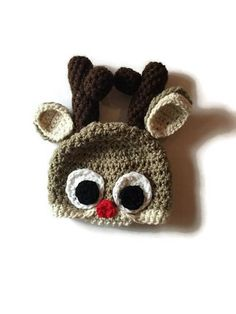 A personal favorite from my Etsy shop https://www.etsy.com/listing/574194079/reindeer-hat-baby-reindeer-hat-toddler