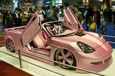 Vroom Vroom! My real life Barbie car