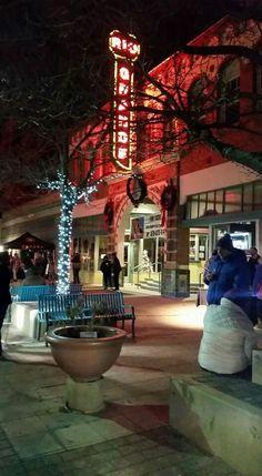 Historic Rio Grande Theater downtown Las Cruces, New Mexico USA.