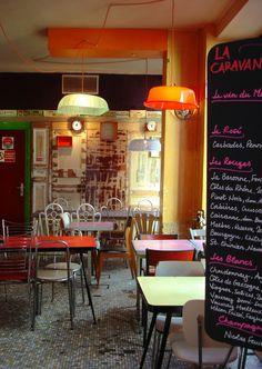 la Caravane, Bar-restaurant Paris
