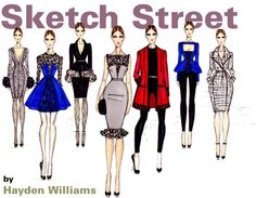 """Hayden Williams for #Sketch #Street"" by sherifah-alghanim ❤ liked on Polyvore"