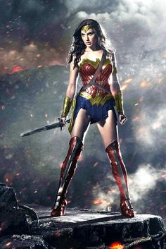 gal gadot wonder woman brighter colors - Google Search