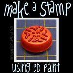 Bottle Cap + Puff Paint = a unique stamp--How easy is that? Aquí en venen: http://www.manosmaravillosas.com/index.php/ideas/Pintura-de-relieve_162