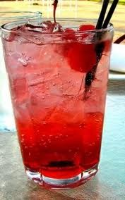 Tickle Me Elmo~  It's sweet but so is Elmo~  It's an easy drink~